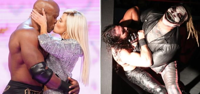 【WWE】レジェンド・チーム対決決定!さらにラナの裏切りキスとワイアット襲撃で王座戦が大混乱!