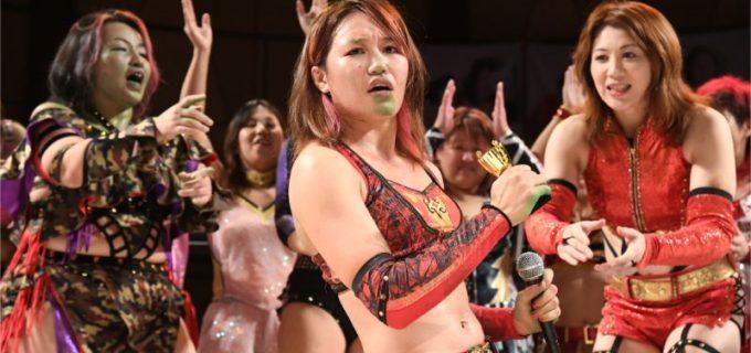 【WAVE】「JOSHIPRO OSAKA ASSENBLE~grand finale」GAMILIBRE 10・14大阪試合結果!2代目コミカルエースに朱里を指名!