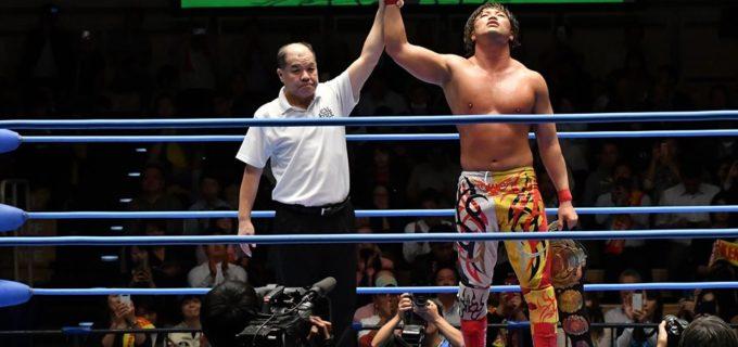 【全日本】三冠戦は宮原健斗がジェイク・リーの挑戦を退けV8!2019年のMVPは確定と宣言!