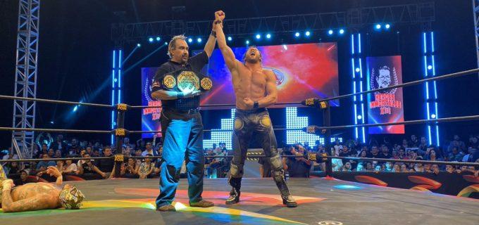 【AEW】ケニー・オメガがAAAのメガチャンピオン戦でフェニックスを撃破しチャンピオンベルトを獲得!