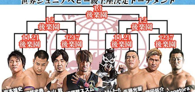 【全日本】世界ジュニアヘビー級王座決定トーナメント開催決定及び1回戦決定