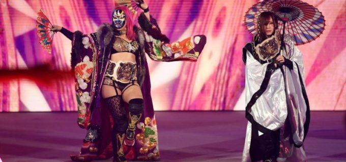 【WWE】カブキ・ウォリアーズが強敵ベッキー&シャーロット相手に王座防衛