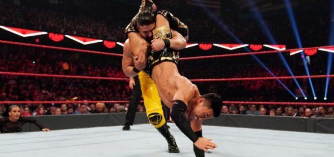 【WWE】戸澤、アンドラデ相手にロウ初勝利に届かず
