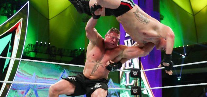 【WWE】9年越しリベンジ!レスナーがヴェラスケス相手にキムラロックで王座防衛