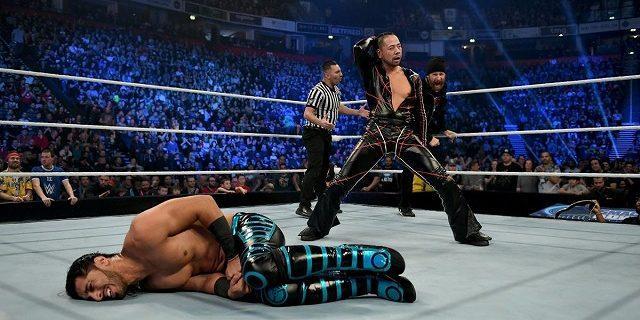 【WWE】ワイアットが中邑&ゼインが勧誘するブライアンを襲撃!