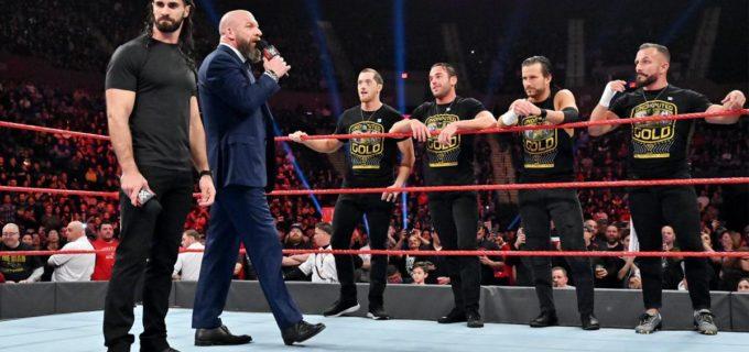 【WWE】トリプルHが目標を見失ったロリンズを勧誘