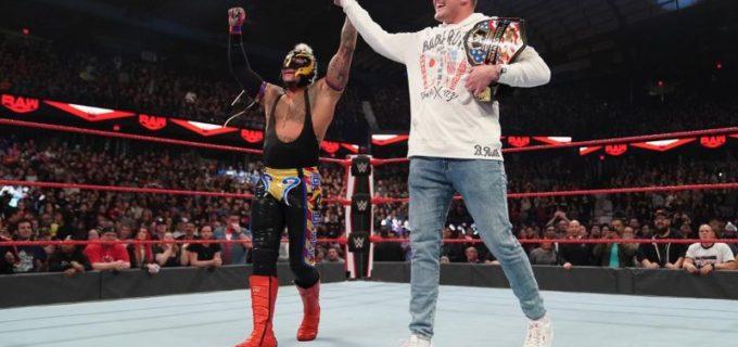 【WWE】AJスタイルズが王座陥落!レイ・ミステリオが新US王者に!