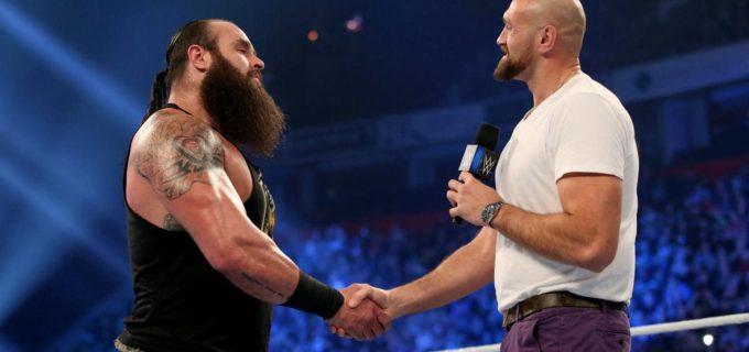 【WWE】フューリーとストローマンが遺恨解消してBチーム粉砕