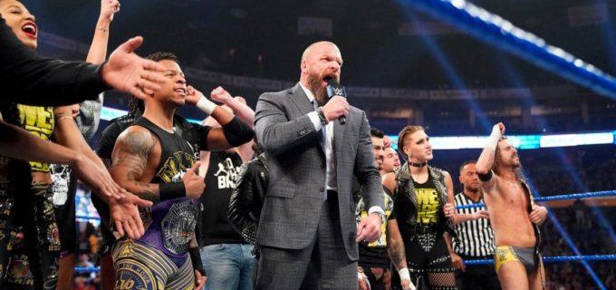 【WWE】コールがブライアン相手にNXT王座防衛に成功!