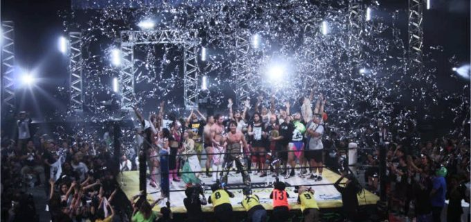 【DDT】11.3 両国『Ultimate Party 2019~DDTグループ大集合!~』全試合結果!ケニー・オメガが5年ぶりに登場!HARASHIMAが2冠王に!白昼夢、高梨、坂崎が王座獲得!石井、DAMNATIONが防衛!