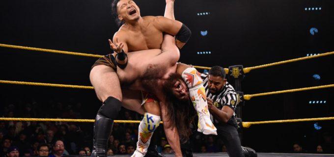 【WWE】KUSHIDAがグライムスまさかの逆転負け
