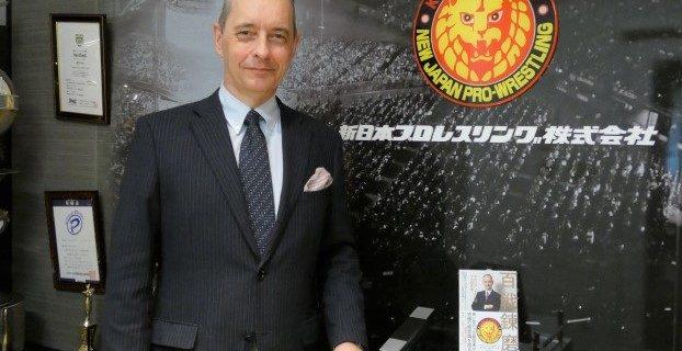 【編集長インタビュー】「『百戦錬磨』を出版した青い目の社長・メイ氏を直撃。新日本プロレスへの愛を激白」