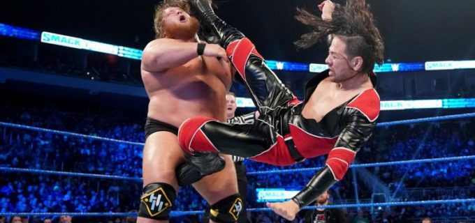 【WWE】中邑&セザーロがヘビー・マシナリーを撃破
