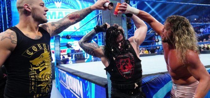 【WWE】レインズがドッグフードで屈辱!TLC戦が決定したコービンとの遺恨が激化