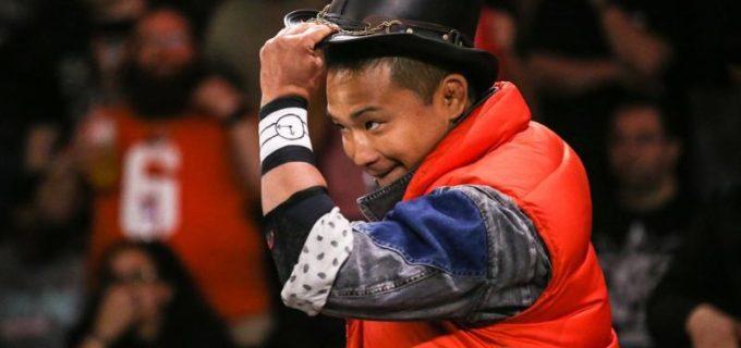 【WWE】KUSHIDAとグライムスの抗争が勃発!