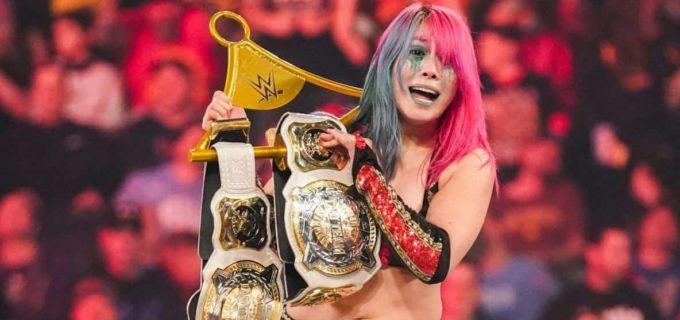 【WWE】カブキ・ウォリアーズがベッキー&シャーロットとのTLC戦を制して王座防衛