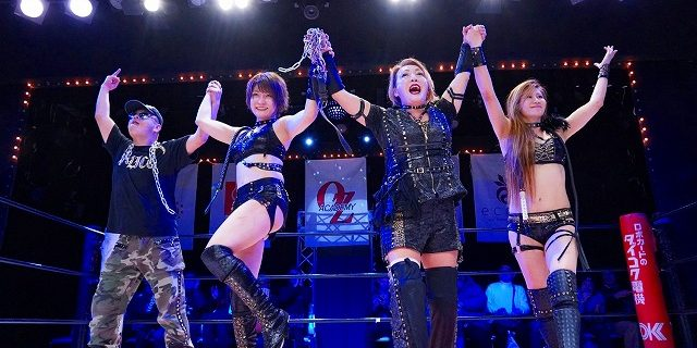 【OZアカデミー】12.22(日)大阪大会『Noisy night, Holy night』<全試合結果>年内最終戦のメインを正危軍が勝利で締める!