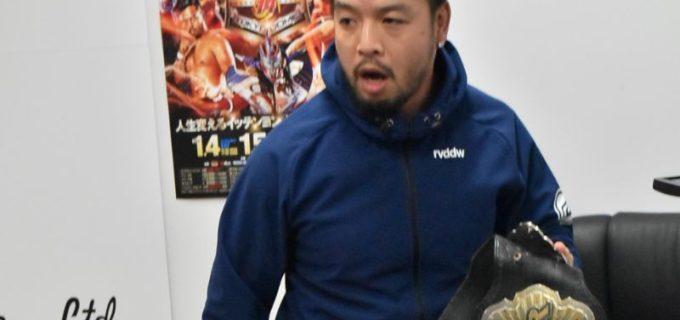 【新日本】1.4&1.5 東京ドーム WK14 対戦カード第3弾発表会見!NEVER王者のKENTAが後藤に暴行!ザックはSANADAのファッションをこきおろす