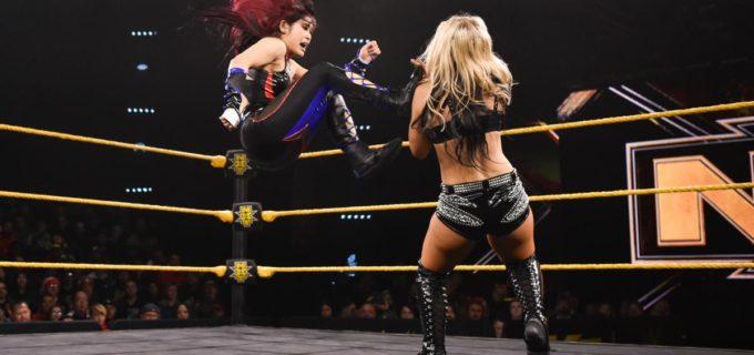 【WWE】紫雷イオとトニー・ストームが一騎打ちもビアンカの乱入で反則裁定