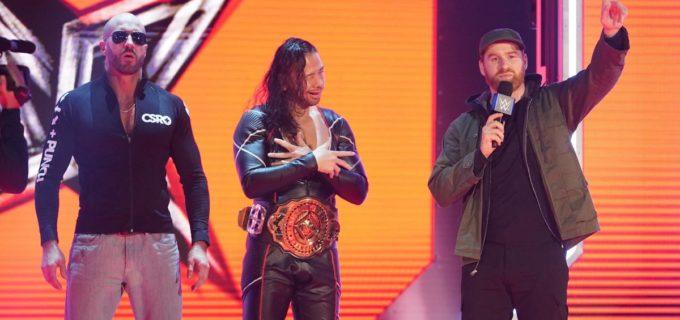 【WWE】IC王者・中邑とストローマンが男子30人ロイヤルランブル戦に出場決定!