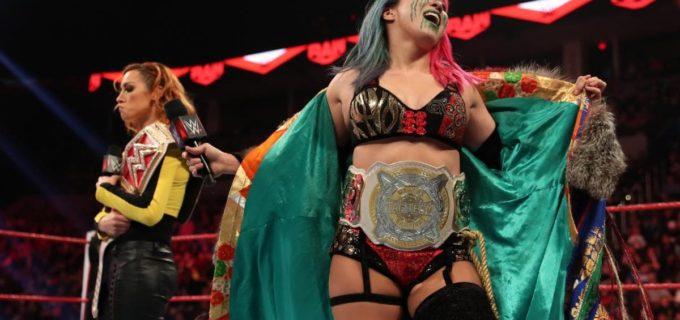 """【WWE】""""女帝""""アスカがロウ女子王者ベッキーに激怒!"""