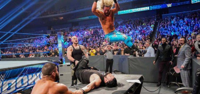 【WWE】レインズとコービンの一騎打ちがPPV「ロイヤルランブル」で決定