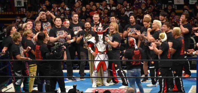 【新日本】<ライガー引退セレモニー>さらば獣神サンダー・ライガー!超満員の観衆と共に最後は『怒りの獣神』を大合唱!!