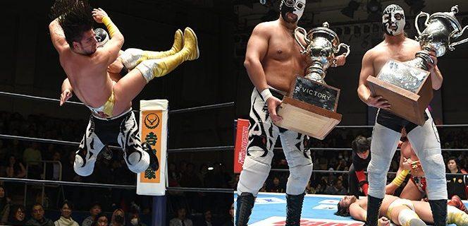 【新日本】サンソン&クアトレロがチャベス兄弟を退け「CMLLファミリータッグトーナメント」念願の優勝!1.17後楽園結果