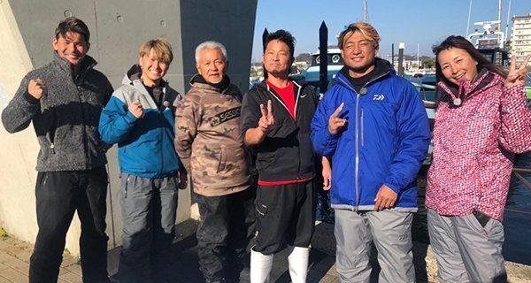 【新日本】1月23日(木)21時~オンエア!BS日テレ『照英・児島玲子の最強!釣りバカ対決!』にSHO選手が出演!