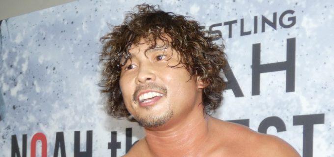 【W‐1】ノア・中嶋勝彦がチャンピオンシップについてコメント「稲葉選手潰しちゃうけど 行ってあげてもいいよ笑」