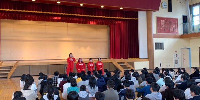【仙女】仙台市の小学校にて自分づくり夢教室の講演を実施