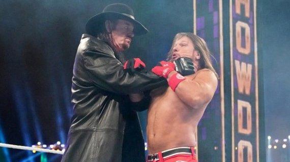 【WWE】アンダーテイカーが突如降臨!AJスタイルズを撃破してガントレット戦制す