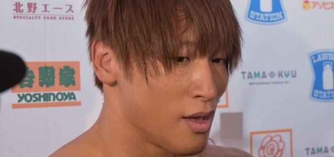 【新日本】棚橋弘至とIWGPタッグ新王者となった飯伏幸太「路線なんか関係ない。このまま全てのベルトも取ってしまおう!」