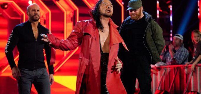 【WWE】中邑、ピアノ上のパワースラムでストローマンに屈辱のフォール負け