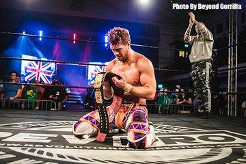 【新日本】死闘の末、ウィル・オスプレイが地元・ロンドンでザック・セイバーJr.を撃破!ブリティッシュヘビー級王座を初戴冠!2.14RPW結果