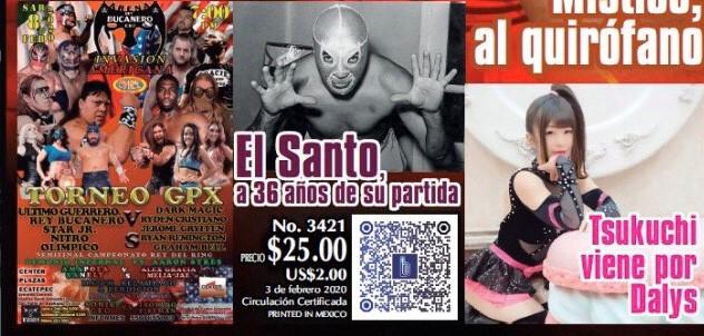 【CMLL】アイスリボンのつくしの第1戦は2.7アレナメヒコ!第2戦は2.9 ERLL のテラサ・エルマ大会に決定!