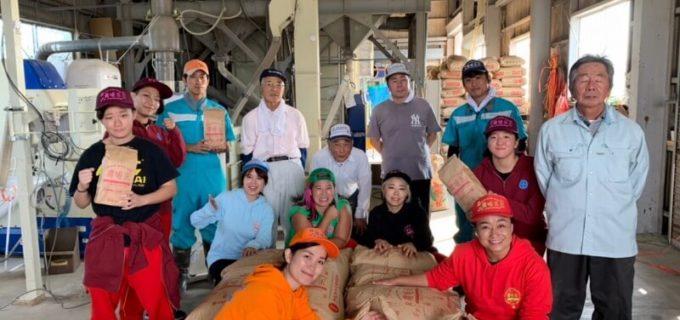 【仙女】農姫米プロジェクト初、都内で農姫米販売イベントを開催!