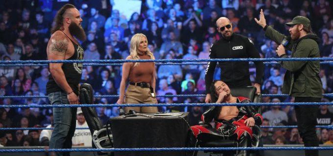 【WWE】中邑&セザーロ&ゼイン対ストローマンの3対1ハンディキャップIC王座戦が決定