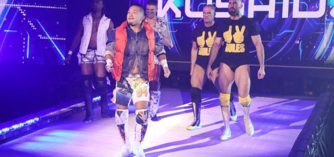【WWE】KUSHIDAが205 Liveにサプライズ登場でチームNXTが勝利