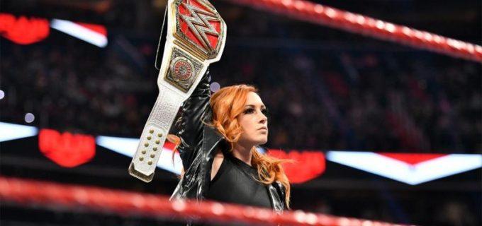 "【WWE】""ザ・マン""ベッキーが強敵シェイナに返り討ちを宣言"