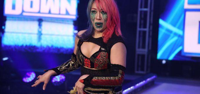 "【WWE】アスカが""カブキ・ウォリアーズ""を非難したアレクサ襲撃でドヤ顔"