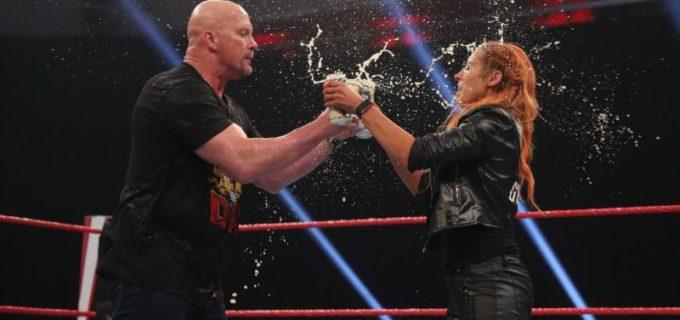 【WWE】オースチンが3:16デイを祝ってスタナー
