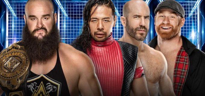 【WWE】中邑&ゼイン&セザーロがストローマン&nWoと対立