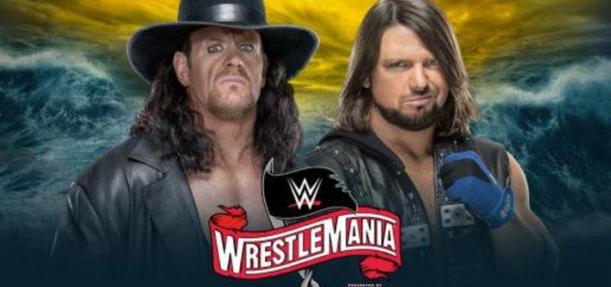 【WWE】祭典でアンダーテイカー対AJスタイルズ戦が決定