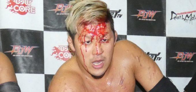 竹田誠志が3.31フリーダムズ後楽園大会での復帰を発表「デスマッチファイターはリングで血を流して生き様を魅せてなんぼ」
