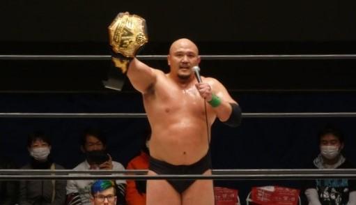 【2AW】岡林が浅川から無差別級タイトル奪取「全員倒して最強のチャンピオンになる」