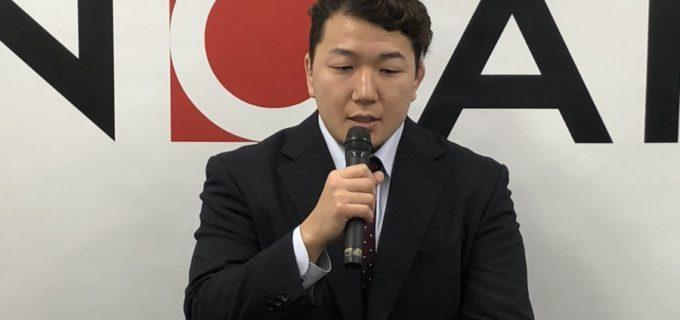 【ノア】<熊野準選手が無期限の休業を発表>熊野「目の治療に専念しようと思いました」
