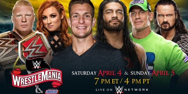 【WWE】史上初、レッスルマニア36が2日間に渡り開催決定!