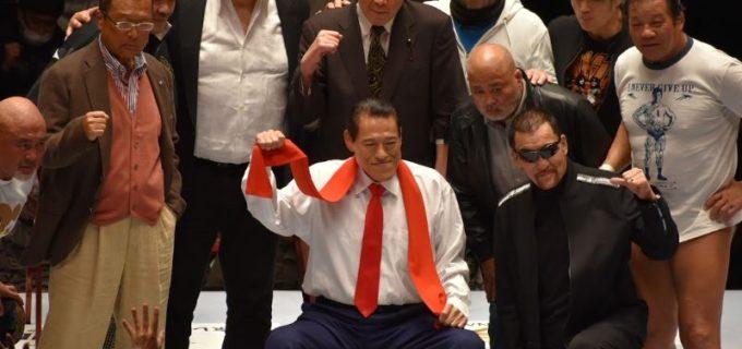 蝶野正洋が3.11 東日本大震災を忘れないメッセージ動画を投稿!猪木・長州・藤原・前田・サスケら12名のレジェンドレスラーが登場