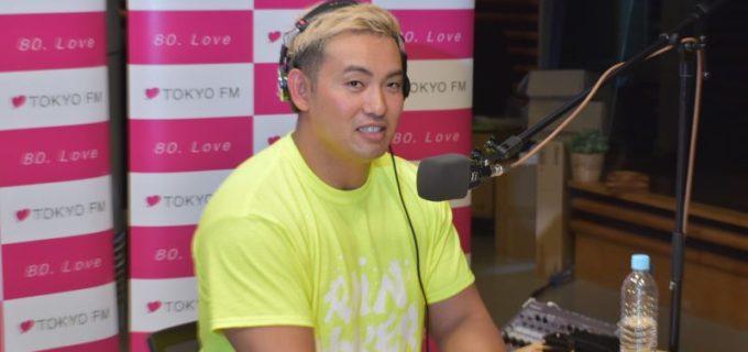 【新日本】オカダ・カズチカがラジオの公開収録!母親登場や腕立て伏せで4/5(日)朝6:00から「滝の汗が降るぞ?」